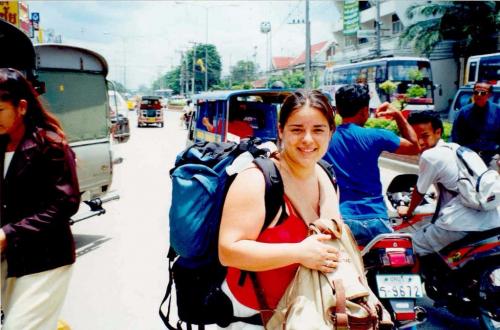 DE MOCHILA POR TAILANDIA. Mujer y Viajera. Carolina Esteller