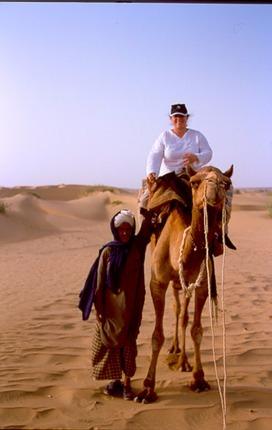 DESIERTO DEL THAR. INDIA. Mujer y Viajera. Carolina Esteller