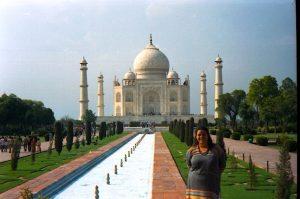 TAJ MAJAL. INDIA. Mujer y Viajera. Carolina Esteller